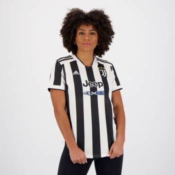 Camisa Adidas Juventus Home 2022 Feminina