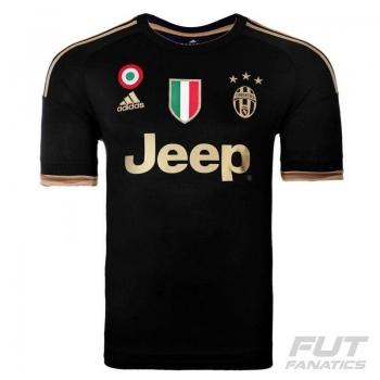 Camisa Adidas Juventus Third 2016 Scudetto