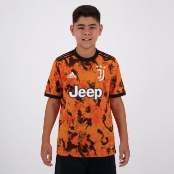 Camisa Adidas Juventus Third 2021 Juvenil