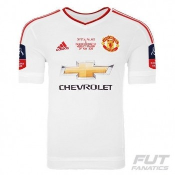 Camisa Adidas Manchester United Away 2016 FA Cup Final