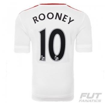 Camisa Adidas Manchester United Away 2016 Juvenil