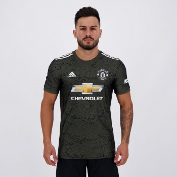 Camisa Adidas Manchester United Away 2021