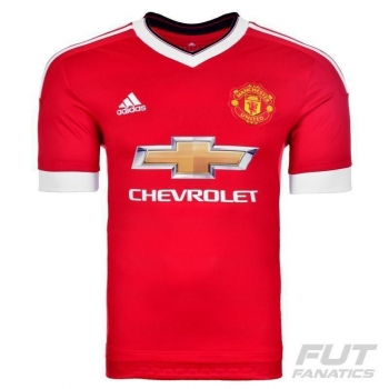 Camisa Adidas Manchester United Home 2016 Juvenil