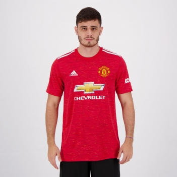 Camisa Adidas Manchester United Home 2021