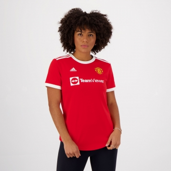 Camisa Adidas Manchester United Home 2022 Feminina