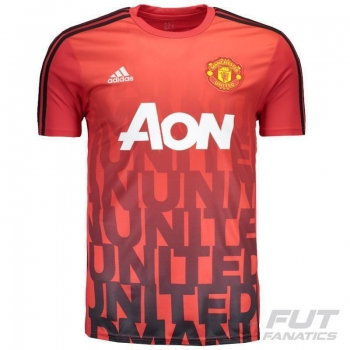 Camisa Adidas Manchester United Pre Match
