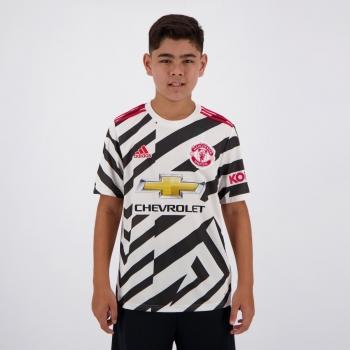 Camisa Adidas Manchester United Third 2021 Juvenil