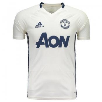Camisa Adidas Manchester United Treino 2017 Branca