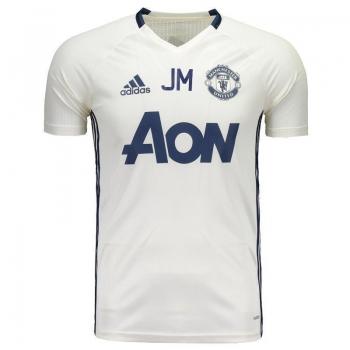 Camisa Adidas Manchester United Treino 2017 Mourinho