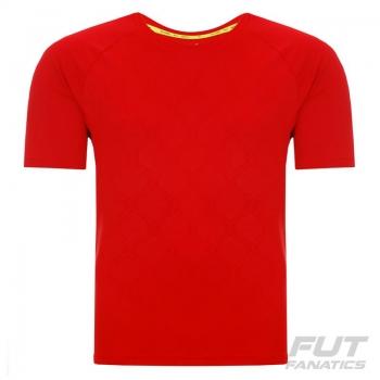Camisa Adidas Messi Treino Vermelha