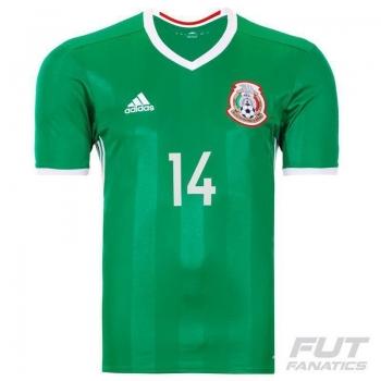 Camisa Adidas México Home 2016 14 Chicharito
