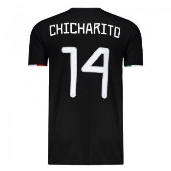 Camisa Adidas México Home 2019 14 Chicharito