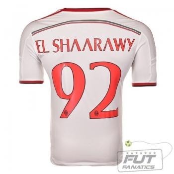 Camisa Adidas Milan Away 2015 92 El Shaarawy