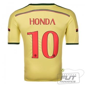 Camisa Adidas Milan Third 2015 10 Honda