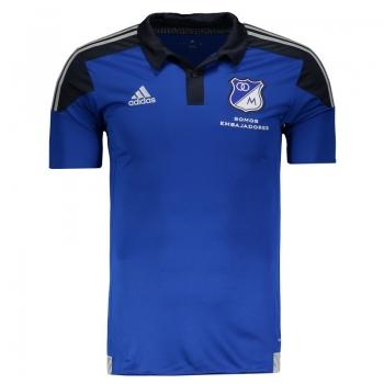 Camisa Adidas Millonarios Home 2015