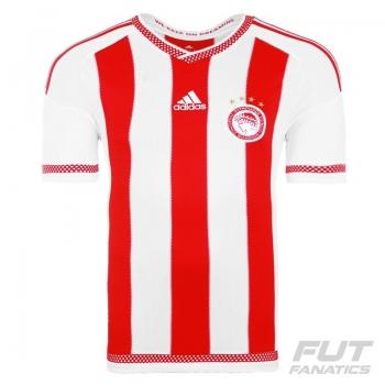 Camisa Adidas Olympiakos Home 2016