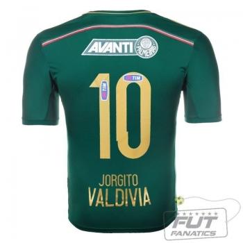 Camisa Adidas Palmeiras I 2014 10 Valdivia