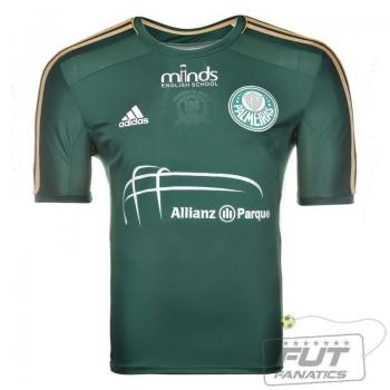 Camisa Adidas Palmeiras I 2014 Allianz