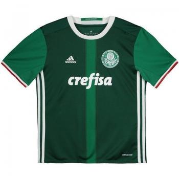 Camisa Adidas Palmeiras I 2016 Juvenil