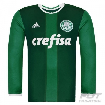 Camisa Adidas Palmeiras I 2016 Manga Longa