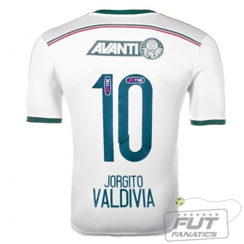 Camisa Adidas Palmeiras II 2014 10 Valdivia