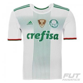 Camisa Adidas Palmeiras II 2016 com Patch