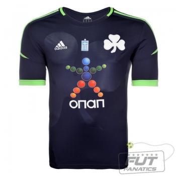 Camisa Adidas Panathinaikos Away 2013