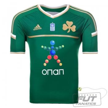 Camisa Adidas Panathinaikos Home 2015