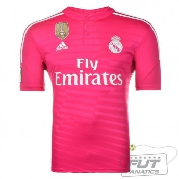 Camisa Adidas Real Madrid Away 2015 C/ Patch