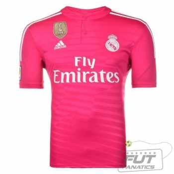 Camisa Adidas Real Madrid Away 2015 C/ Patch