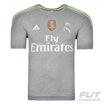 Camisa Adidas Real Madrid Away 2016 Com Patch
