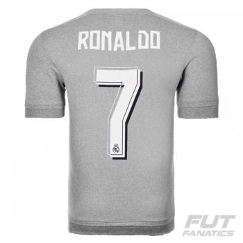 Camisa Adidas Real Madrid Away 2016 Juvenil