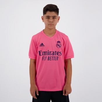 Camisa Adidas Real Madrid Away 2021 Juvenil