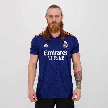 Camisa Adidas Real Madrid Away 2022