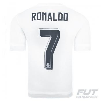 Camisa Adidas Real Madrid Home 2016 Juvenil