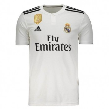 Camisa Adidas Real Madrid Home 2019 com Patch