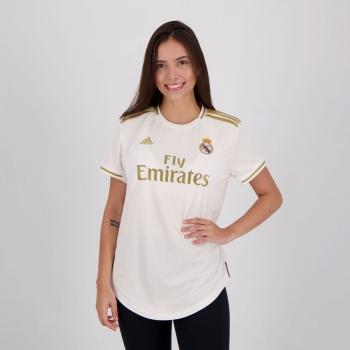 Camisa Adidas Real Madrid Home 2020 Feminina