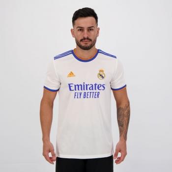Camisa Adidas Real Madrid Home 2022