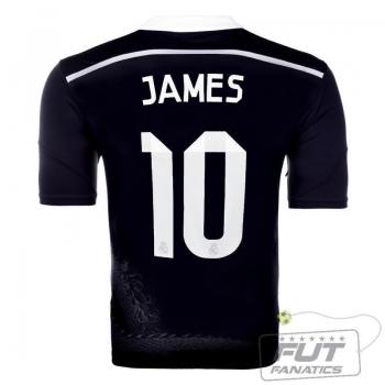 Camisa Adidas Real Madrid Third 2015 10 James