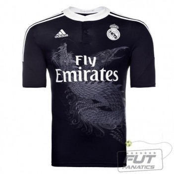 Camisa Adidas Real Madrid Third 2015
