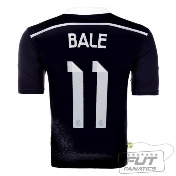 Camisa Adidas Real Madrid Third 2015 11 Bale