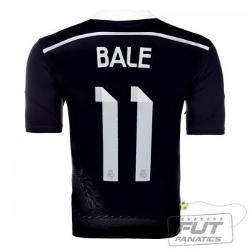 Camisa Adidas Real Madrid Third 2015 11 Bale
