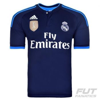 Camisa Adidas Real Madrid Third 2016