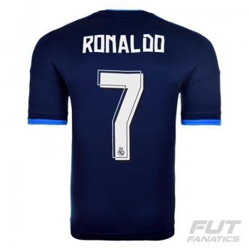 Camisa Adidas Real Madrid Third 2016 Juvenil