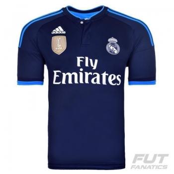 Camisa Adidas Real Madrid Third 2016 UCL