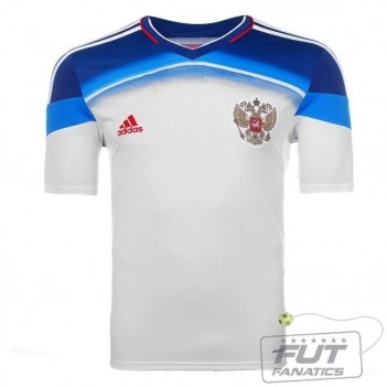 Camisa Adidas Russia Away 2014