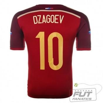 Camisa Adidas Rússia Home 2014