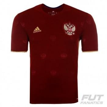 Camisa Adidas Rússia Home 2016