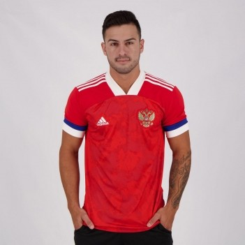 Camisa Adidas Rússia Home 2020