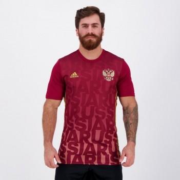 Camisa Adidas Rússia Home Pré Jogo 2017
